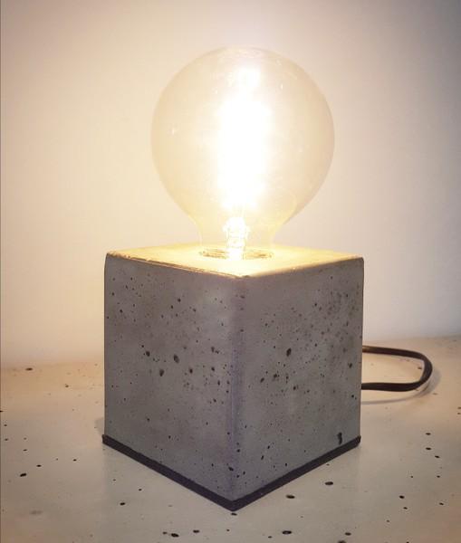 Edison Betonlampe Selber Machen Diy Betonmöbel Einfach Selber