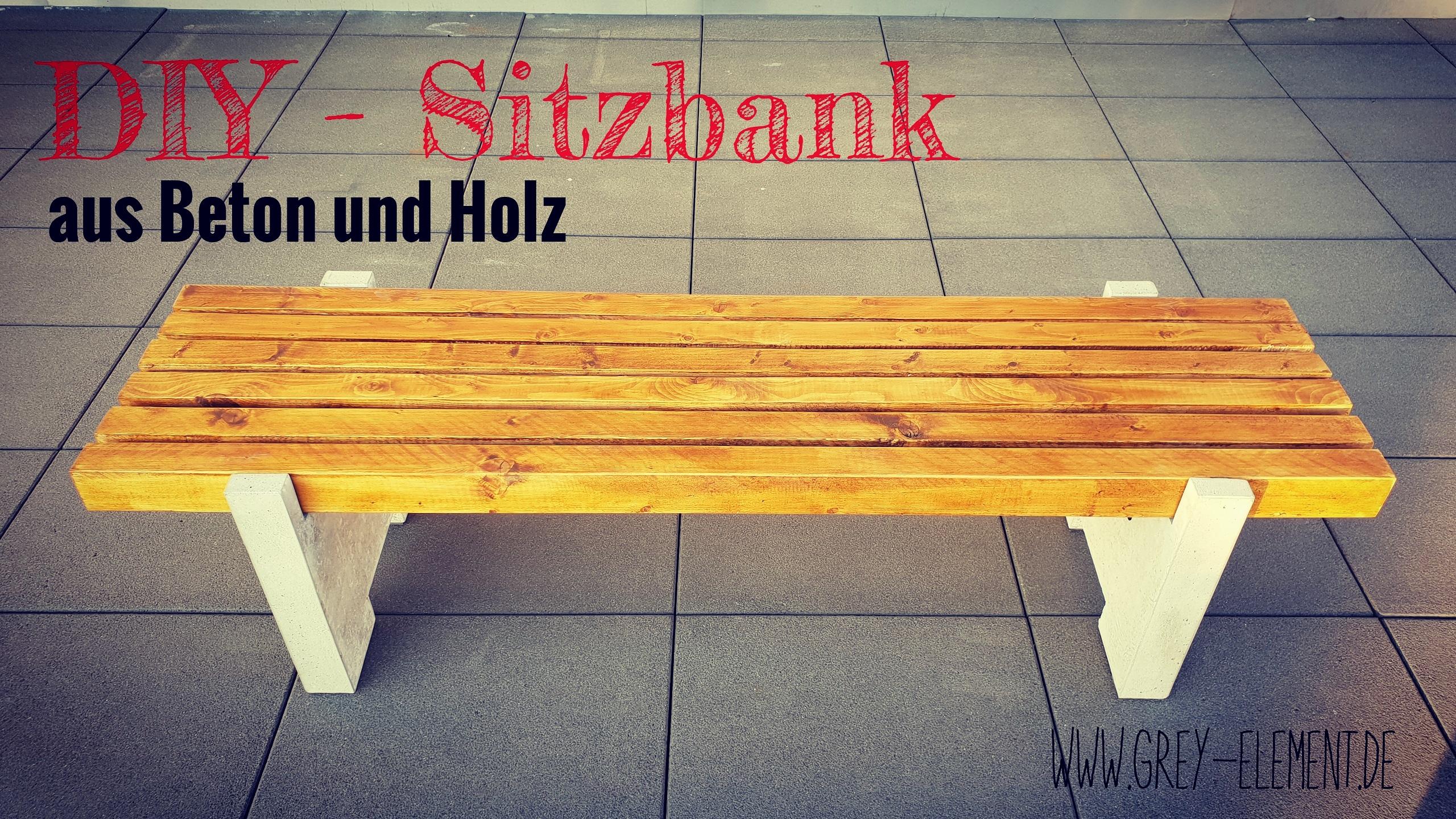 Bank Bauen Anleitung