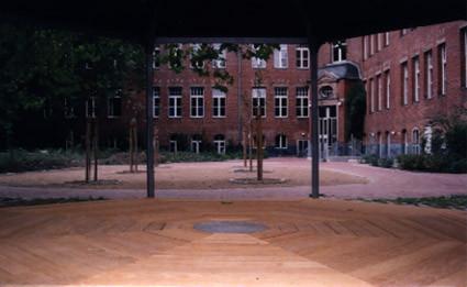 Pavillon -innenanzicht