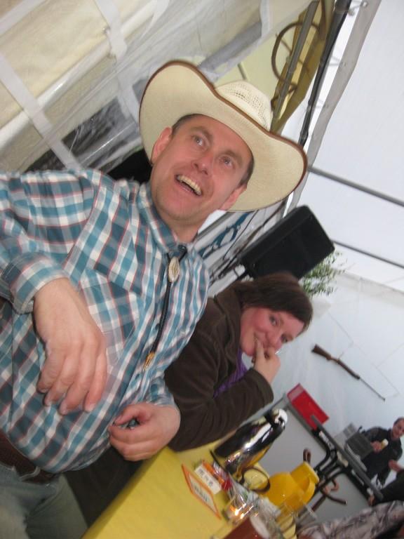 Stan und Jule. Vor lauter Lachen ein bisschen verwackelt!