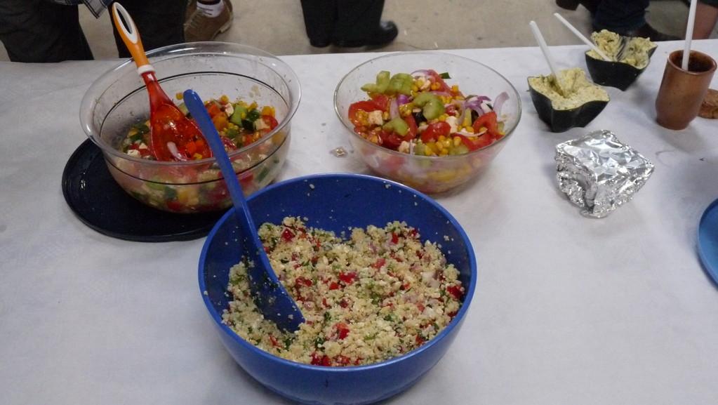 Die Salatvielfalt hält für jeden etwas bereit
