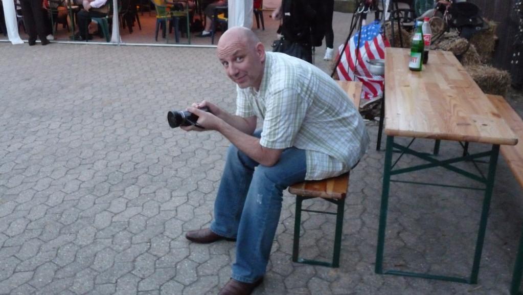 Unser Kameramann 007 Frank alias Sancho!