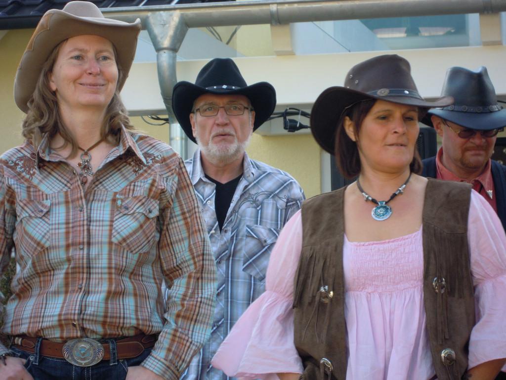 Birgit, Jürgen, Elke, Pete