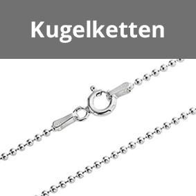 925 Sterling Silber Kugelketten