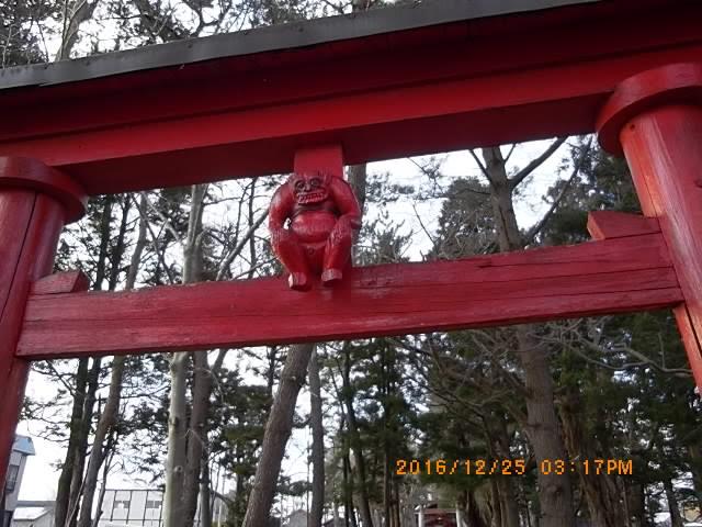 長富高オカミ神社