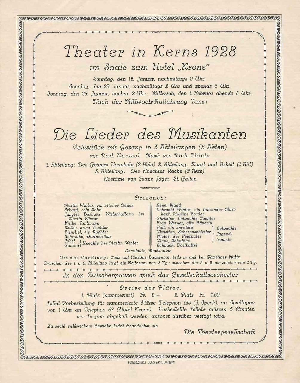 1928 Vorderseite