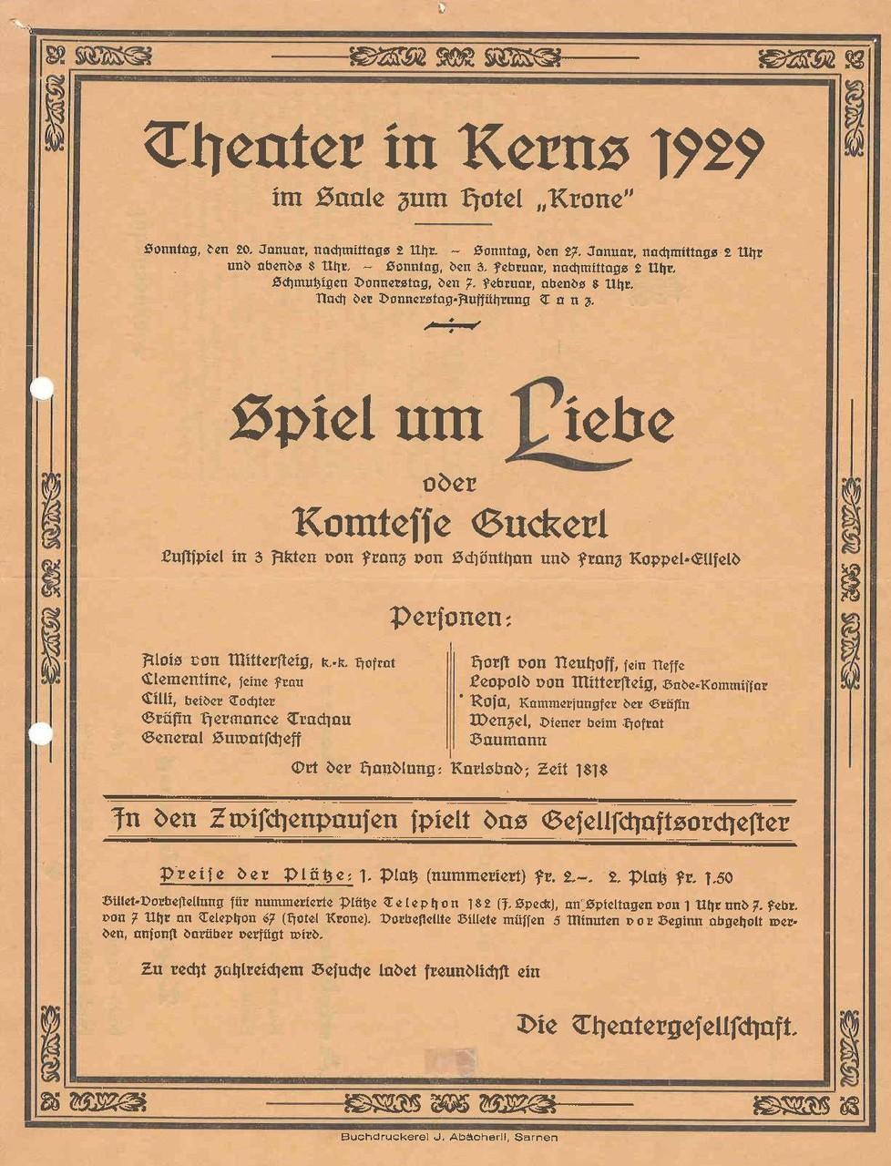 1929 Vorderseite
