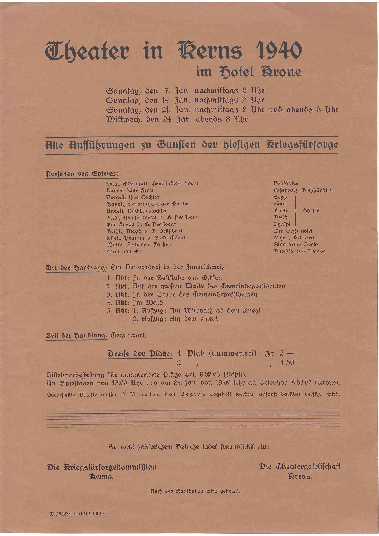 1940 Rückseite
