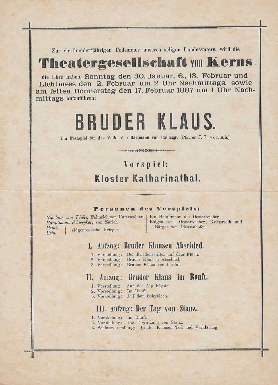 1887 Vorderseite