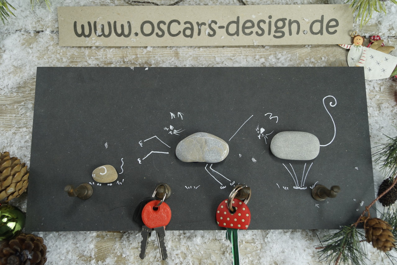schlüssel- & leinenboard - oscars. design for dogs and owners.