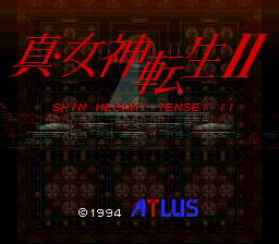 Shin Megami Tensei II SNES