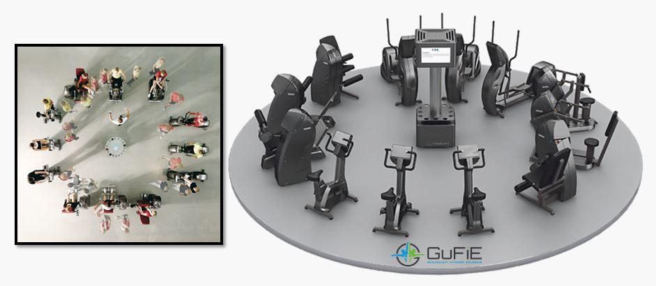 milon Kraft-Ausdauer-Gerätezirkel im GuFiE
