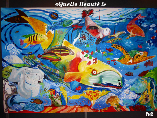 Stand et Atelier d'Anouk Pittet, peintre