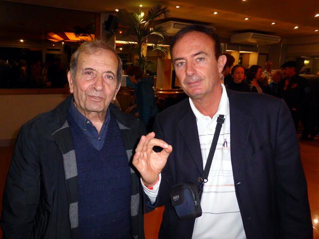 Avec Narno Vicente, Professeur Emérite d'Océanologie & responsable scientifique de l'Institut Océanique Paul Ricard