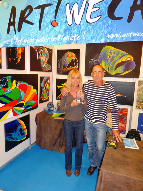 "Nos heureux lauréats pour un ""Prix insolite"" (...): Karine SCHNEIDER, Bernard BOSCH"