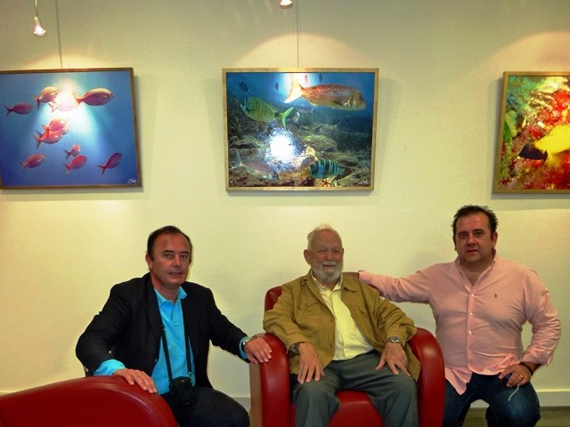 Avec Daniel MERCIER et Franck GIRELLI