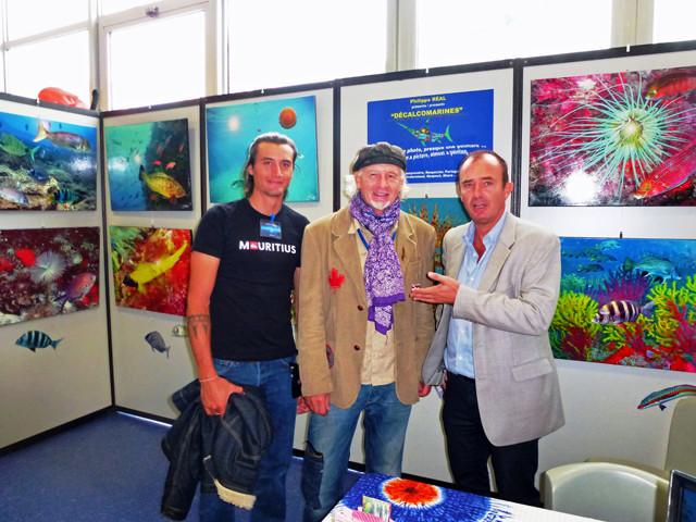 Avec Jim MASSUÉ et son fils