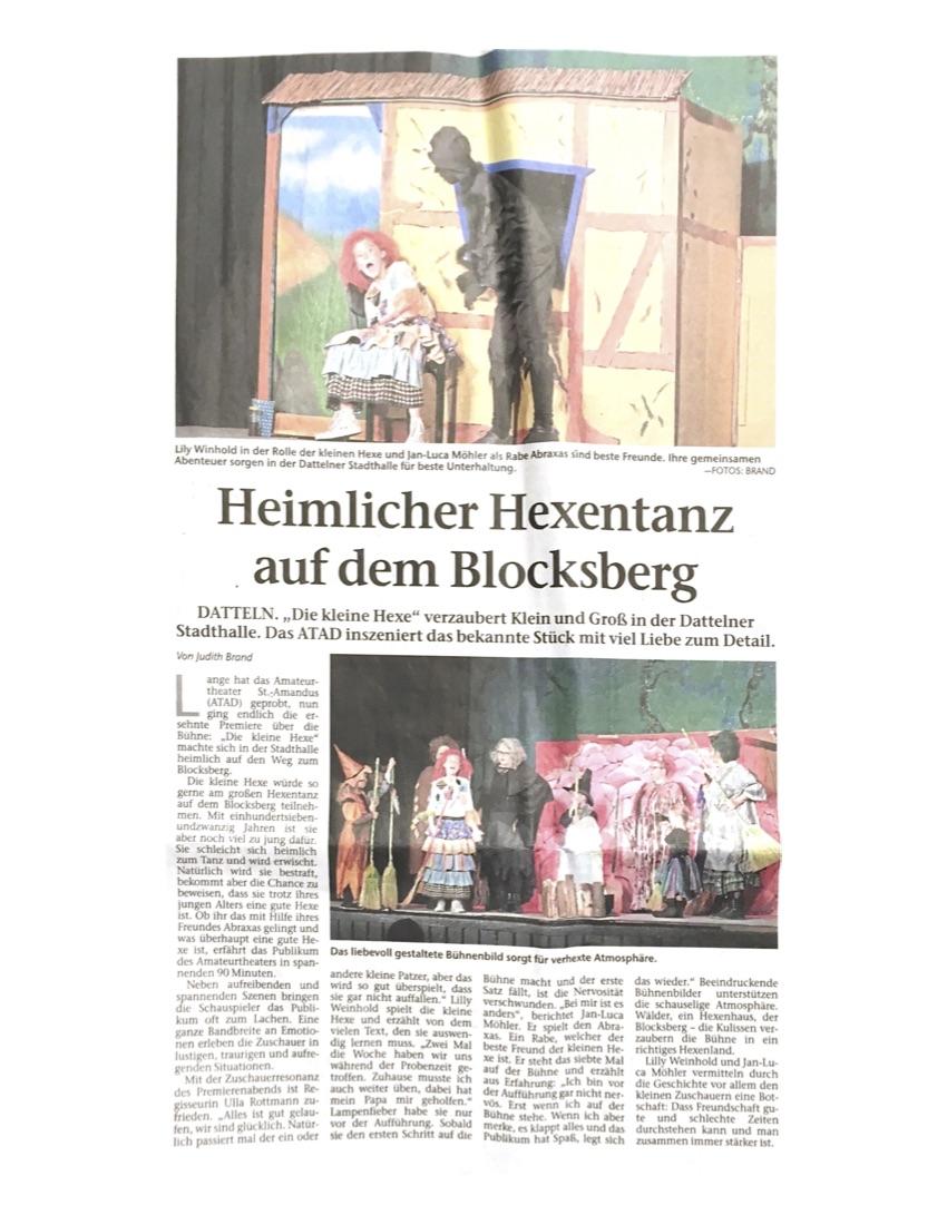 Dattelener Morgenpost, 7.5.2019