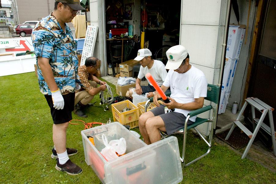 十和田湖ウォーク備品チェック