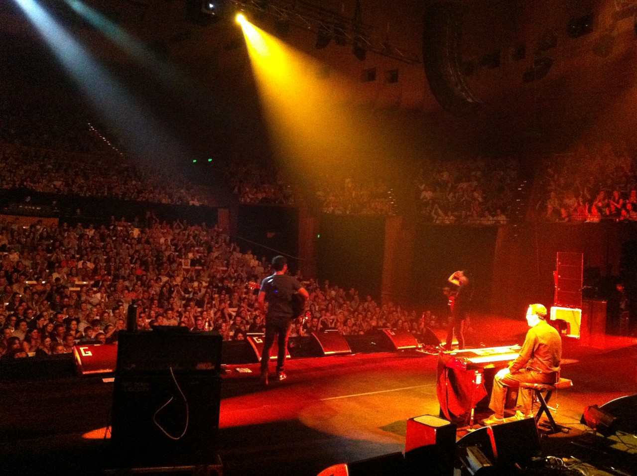 And the show starts - sold out in the main concert hall! — at Sydney Opera House.
