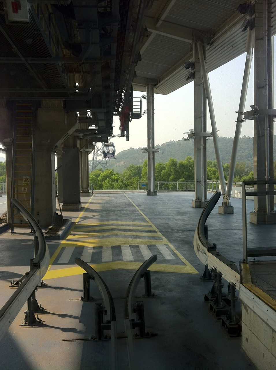 All aboard the cable car! — at Ngong Ping Cable Car.
