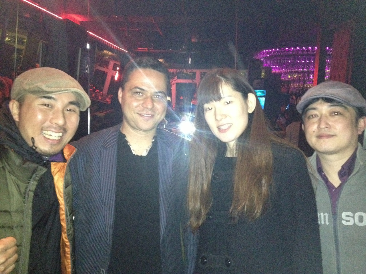 I meet some Japanese salsa musicians! — with Hisayo Yamada in Tokyo, Japan.