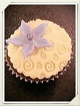 Blumen Cupcake