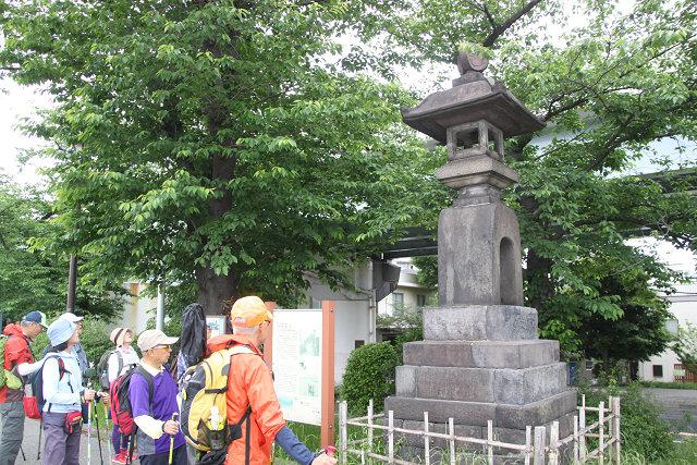 隅田公園(旧水戸藩 下屋敷跡)で休憩