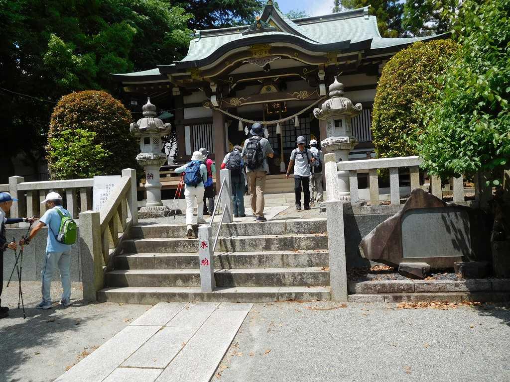 杉山神社 お参り