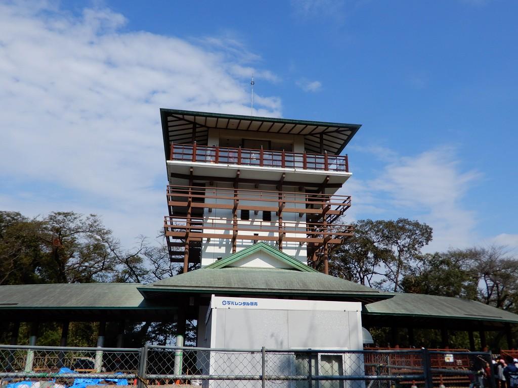 川崎市で一番高い場所の「桝形展望台」