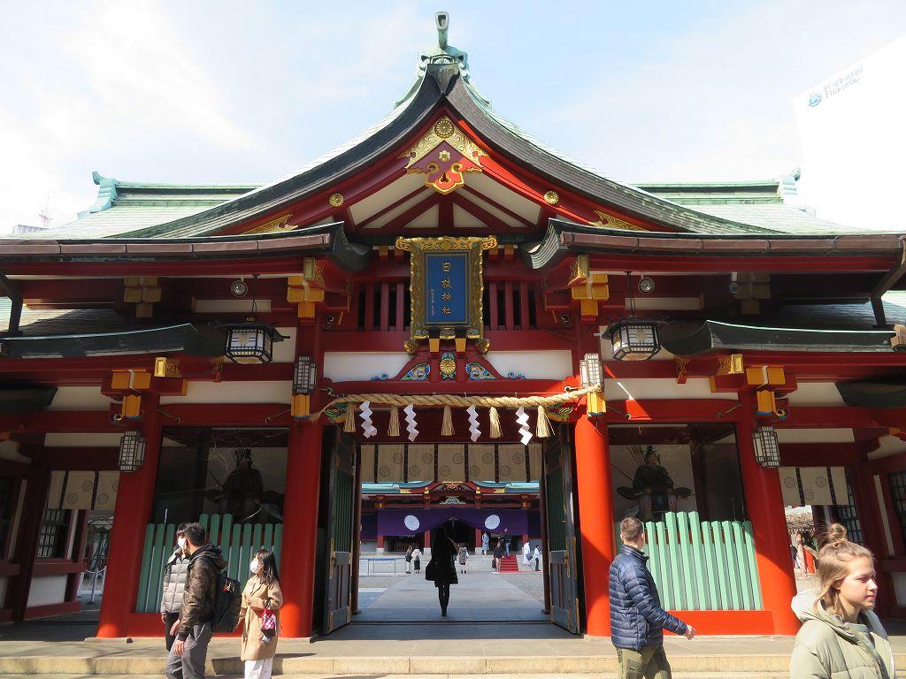 江戸城の鎮守である日枝神社
