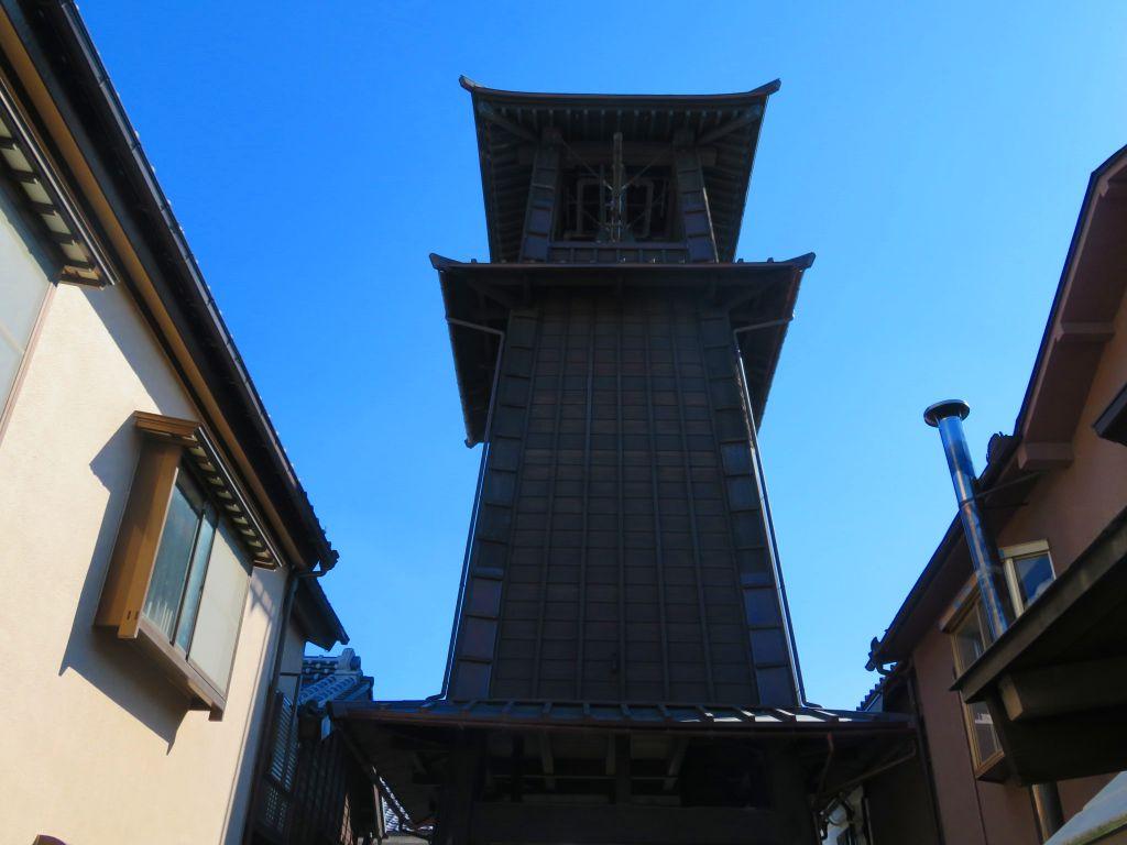 江戸川越のシンボル「時の鐘」