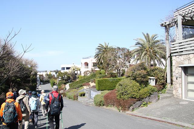 披露山庭園住宅 下見時にはリスが走り廻ってました