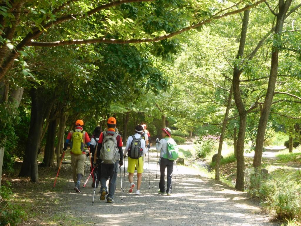徳生公園をウォーキング