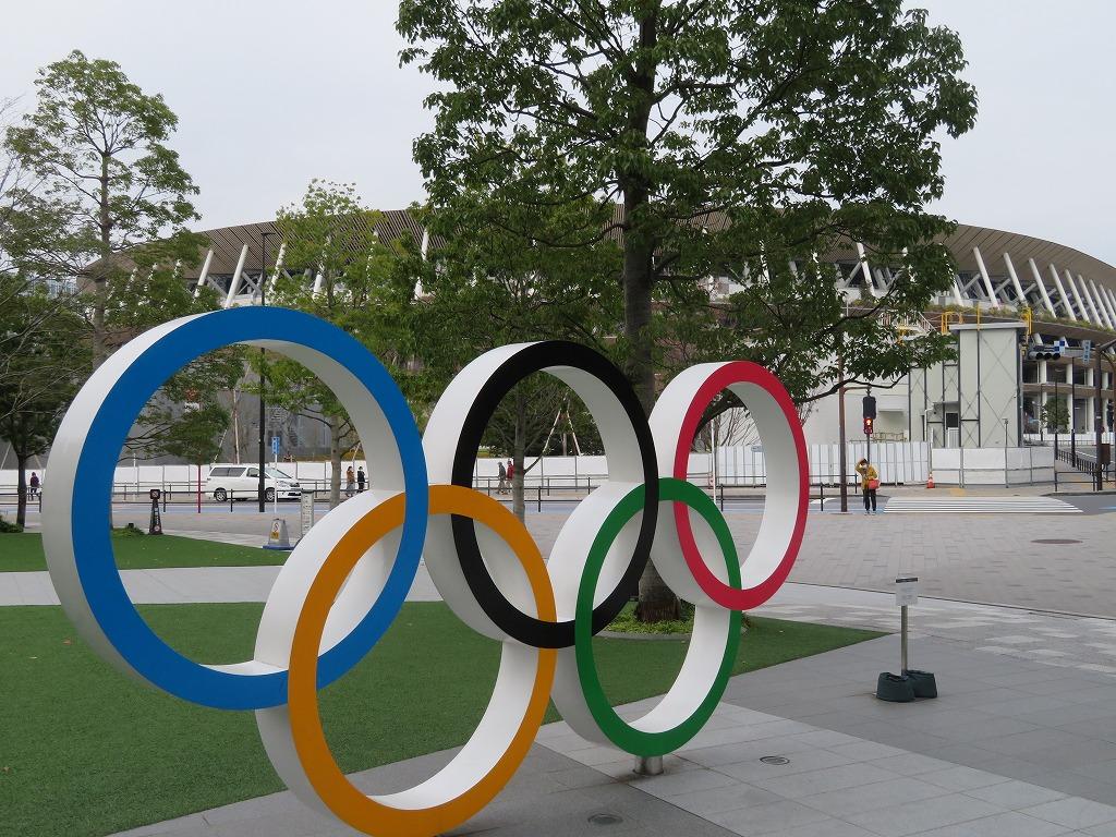 五輪を通して見た国立競技場