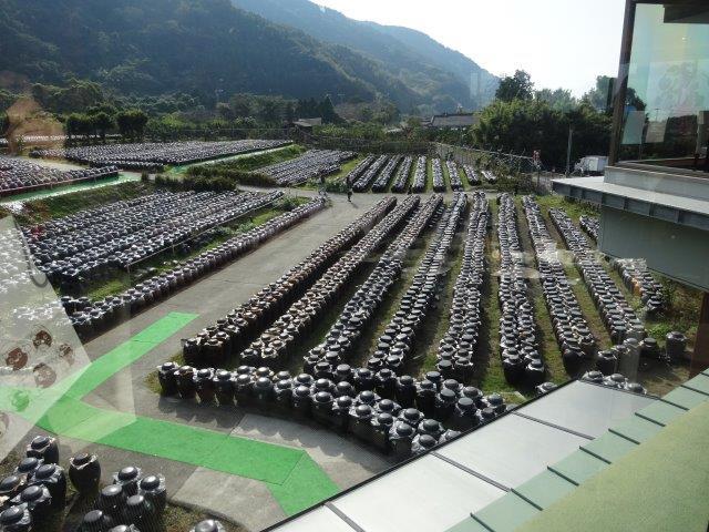 福山酢で有名な桷井田の醸造所