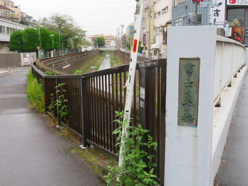 スタート地点の富士見橋