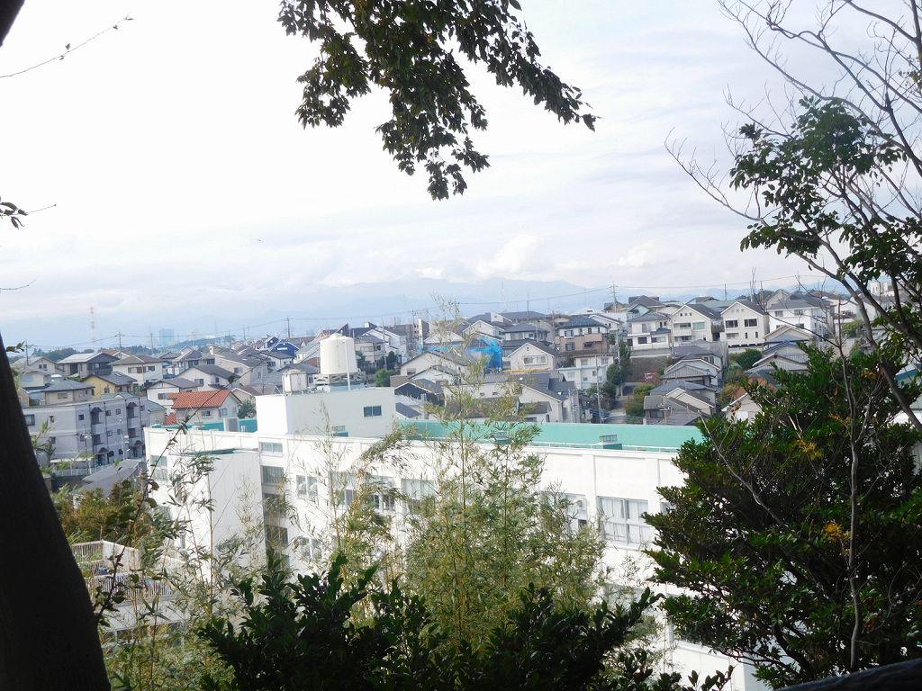 曇天の為富士山はn見えませんでしたザンネン!!