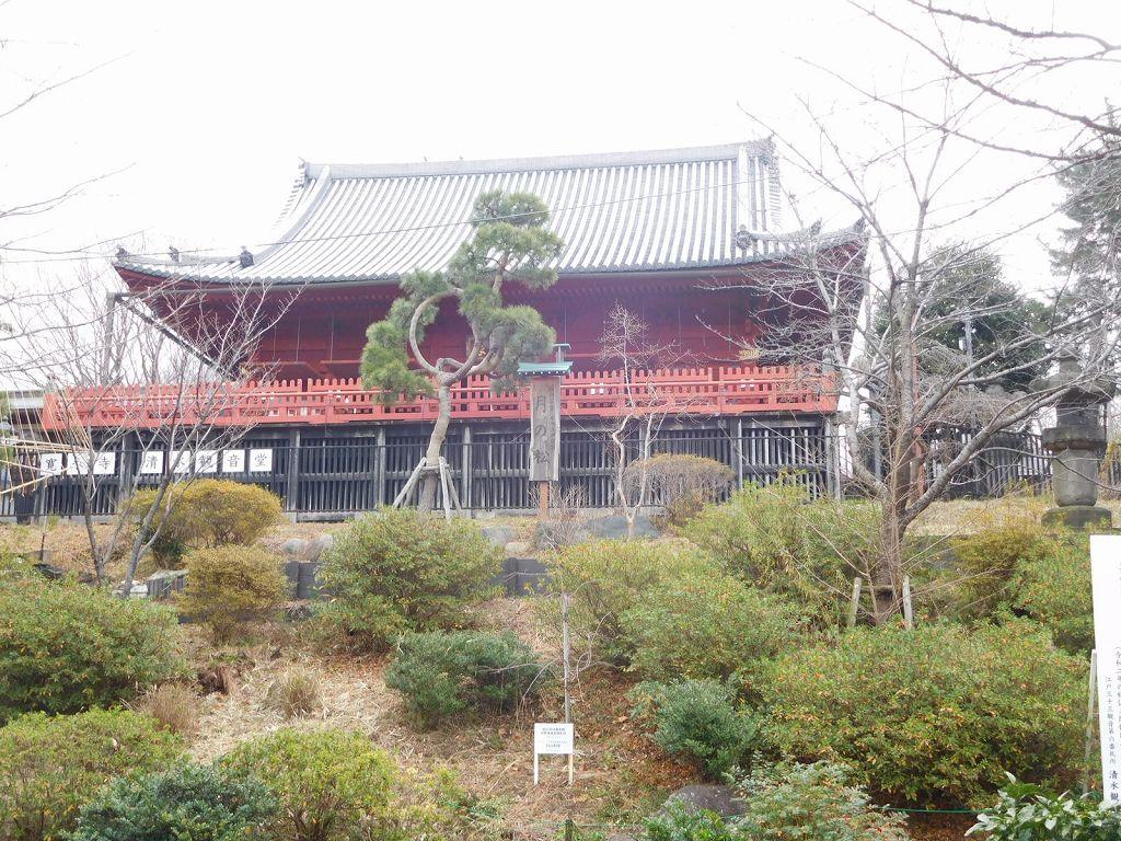 江戸時代から参拝されていた上野清水観音堂