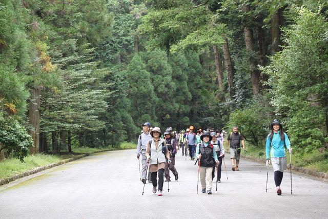 武蔵野御陵に向けてウォーキング