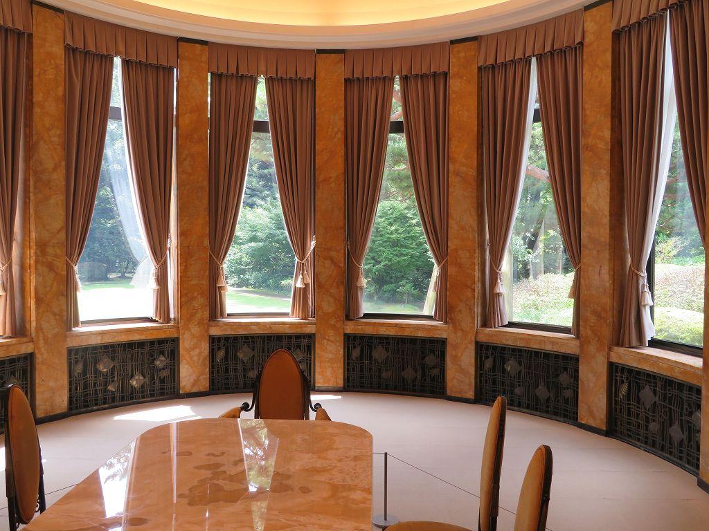 来客時の会食用に使用された「大食堂」
