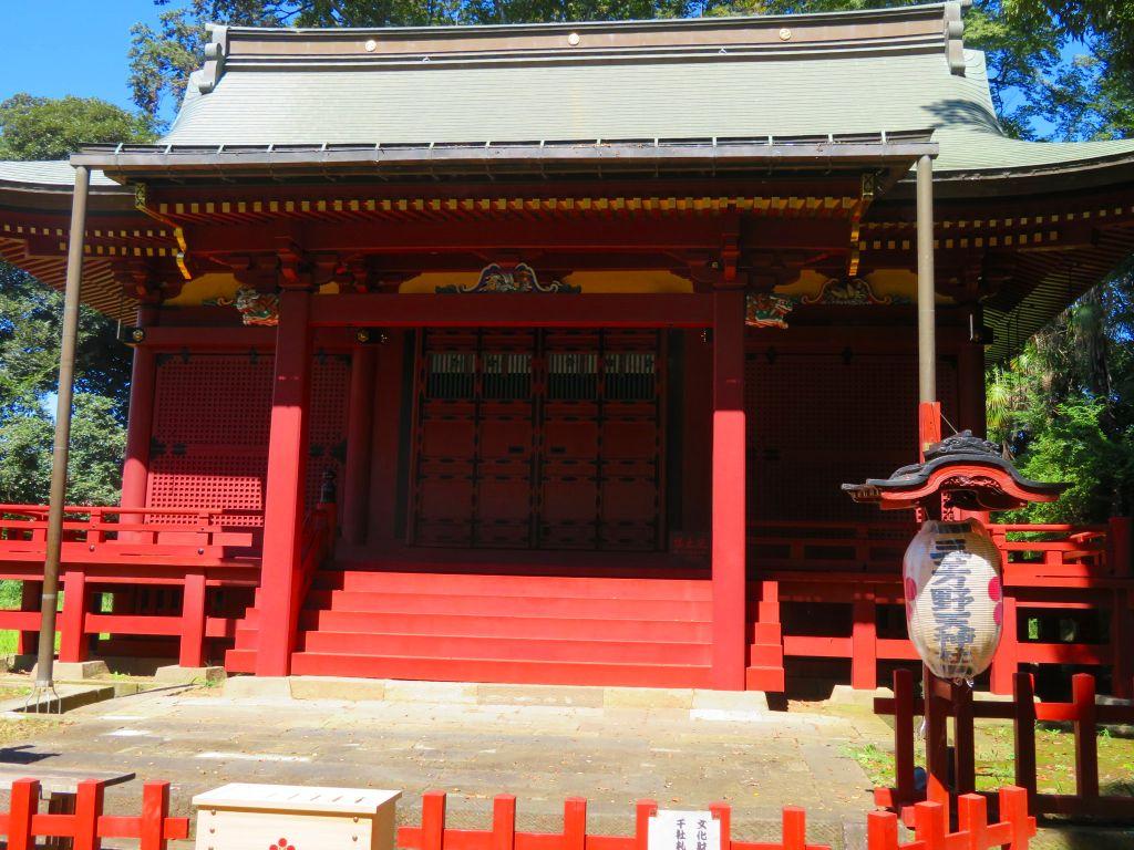 童歌のとおりゃんせ発祥の地の三芳野神社(お城の天神様)