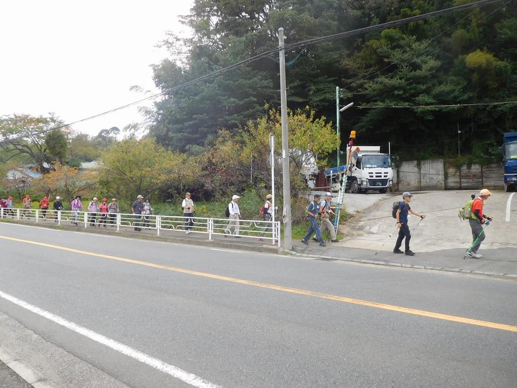 秋を感じながら鶴見川沿いを目指す