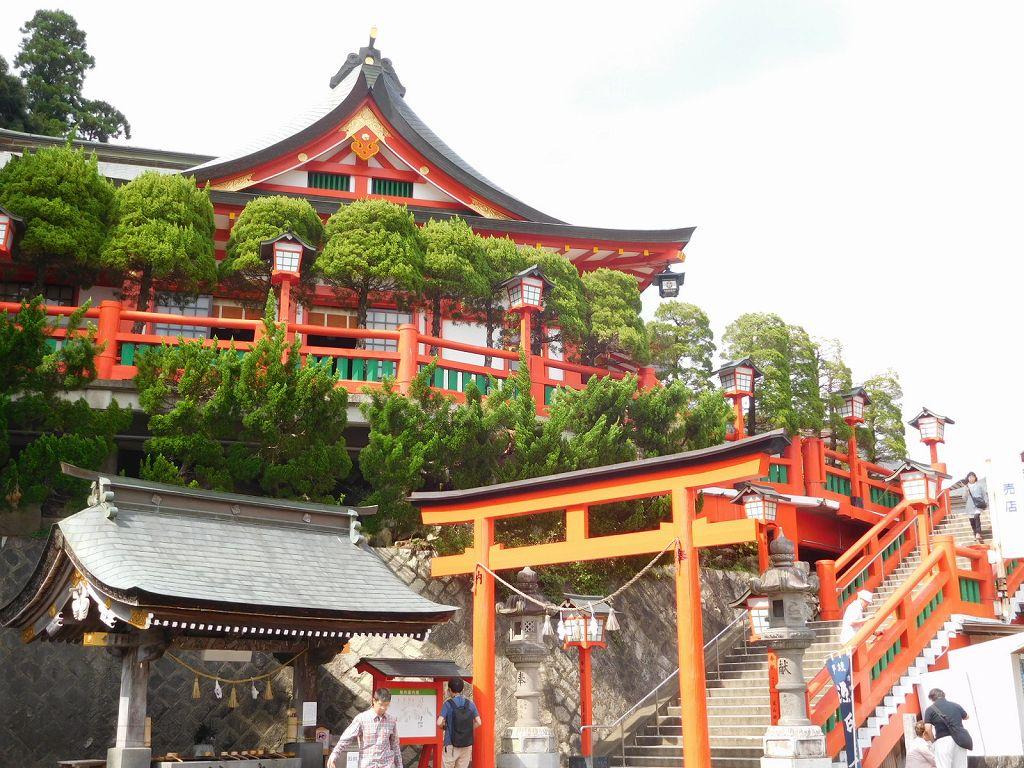 津和野町の稲成神社 この字の神社は登記上3社しかない