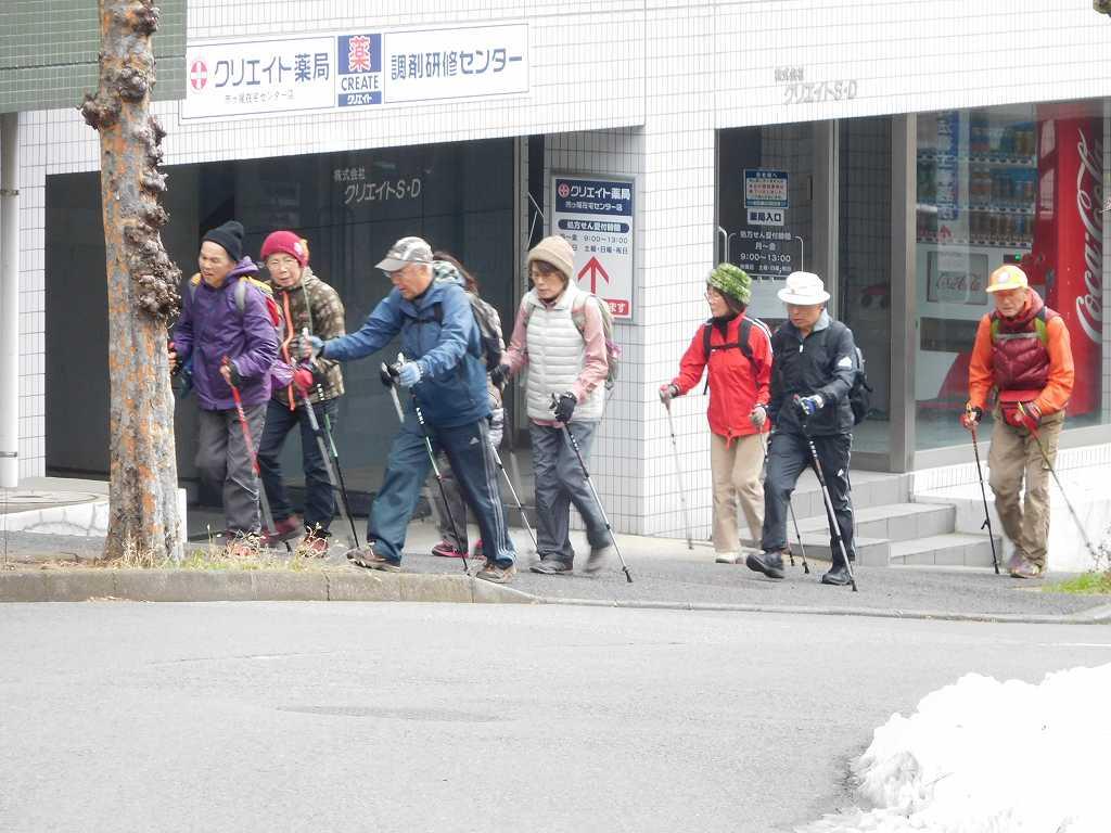 法務局前の登坂 本日最後の登坂です。
