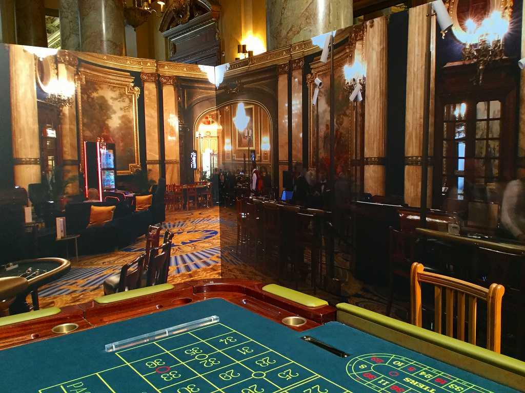 モナコの豪華なカジノ