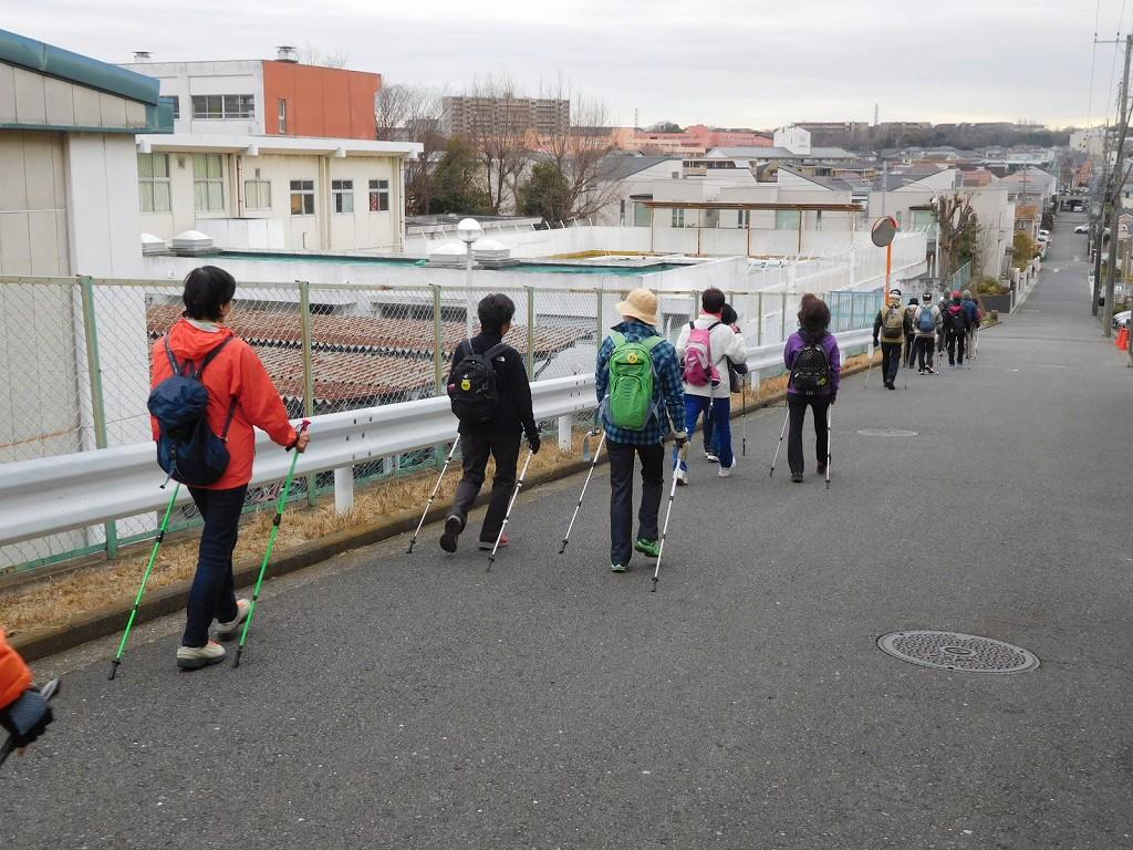 この坂道を放課後 陸上部・バスケ部等々がダッシュしています
