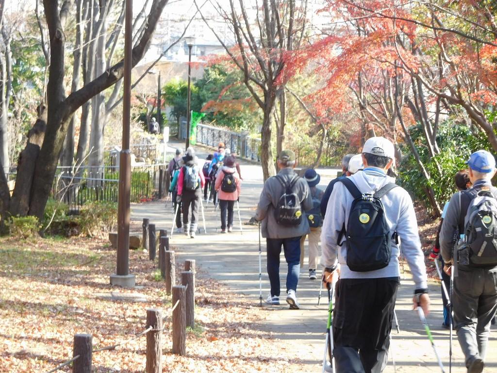 A班は鴨池公園から荏田東地区へ