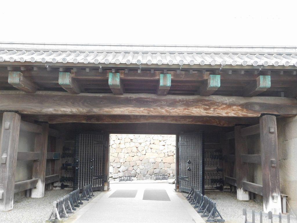 加賀百万石の金沢城の石川門