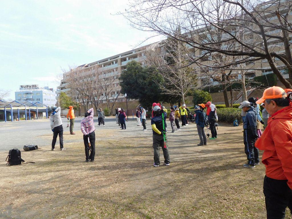 赤田東公園でクールダウンし11時50分解散
